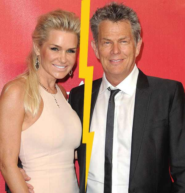 Yolanda Hadid divorce with her music producer husband David Foster