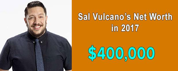 Impractical Jokers' cast Sal Vulcano's net worth is $400,000