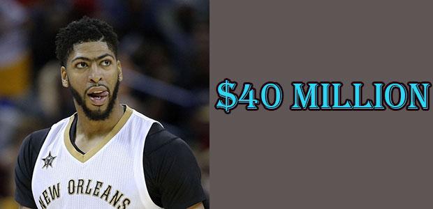 Anthony Davis's Net Worth is $40 Million