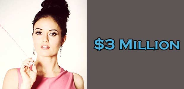Danica McKellar Net Worth is $3 Million