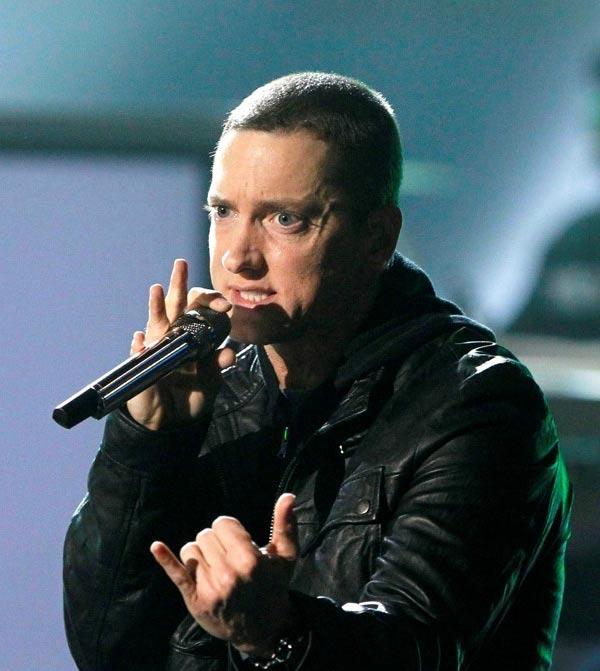 Rap God Eminem Performing Live
