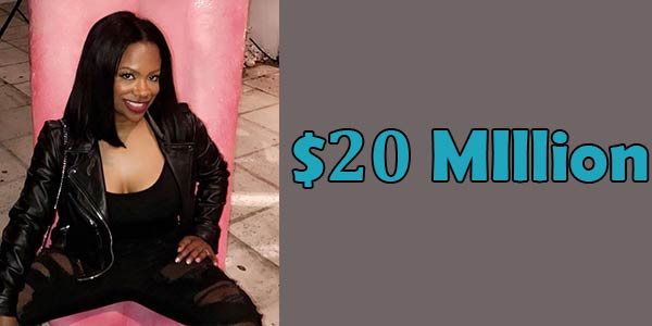 Kandi Burruss Net Worth is $ 20 Million
