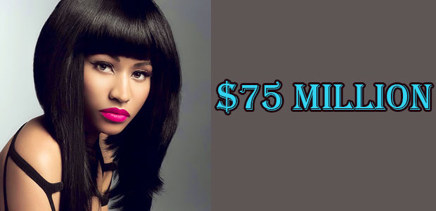 Net Worth of Nicki Minaj is $85 Million