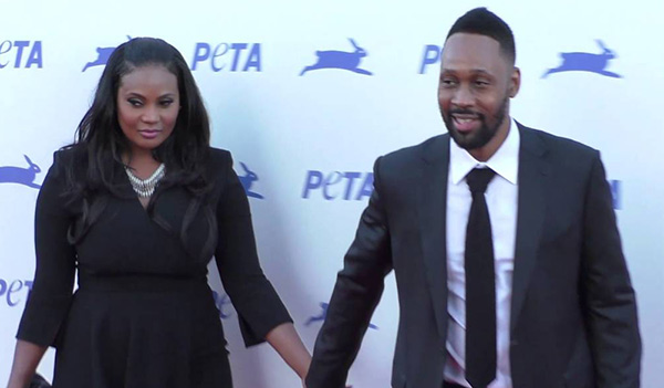 RZA with his Wife Talani Rabb