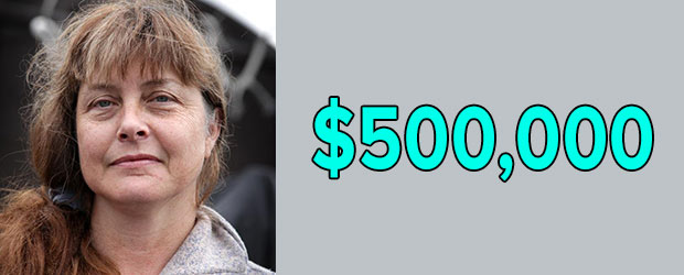 Sue Aikens' net worth as of 2018 is $500,000