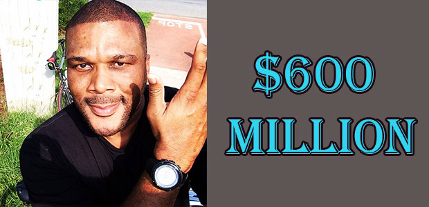 Tyler Perry's Net Worth is $600 Million