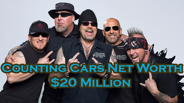 Counting Car Cast Net Worth is $20 Million American Dollar