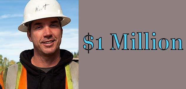 Dustin Hurt net worth is $1 Million