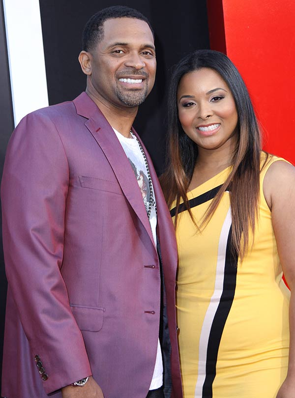 Mike Epps With his lovely Wife Michelle McCain