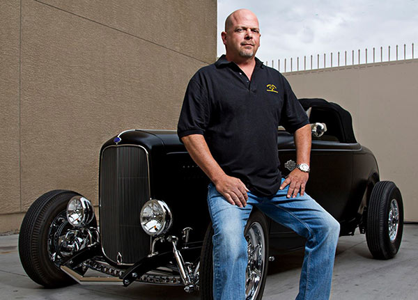Rick Harrison's have lots of Luxury cars