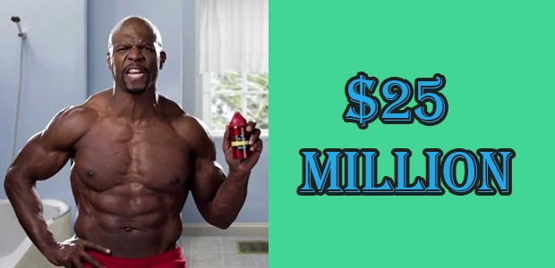 Terry Crews Net Worth till 2018 is $25 Million