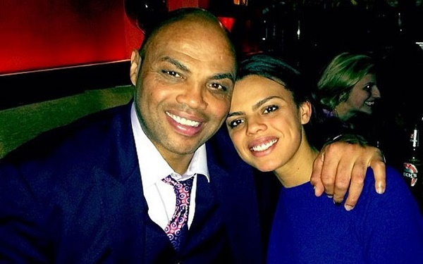 Charles Barkley with his wife
