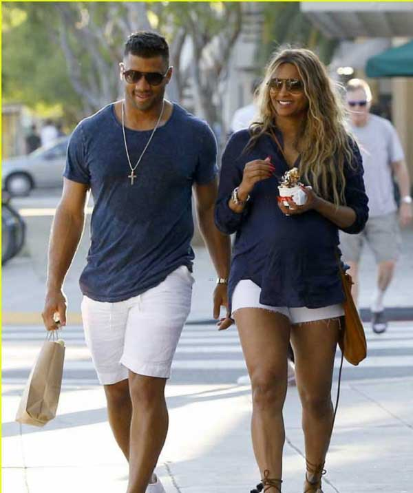 Ciara & Russell Wilson Spending time together