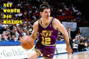 Image of John Stockton Net worth is $40 million