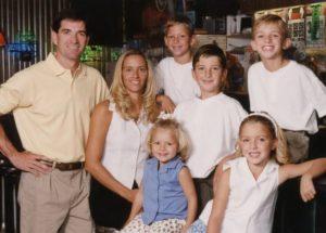 Image of John Stockton family
