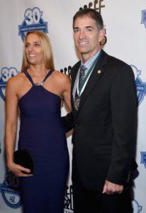John Stockton happy with his wife Nada Stepovich