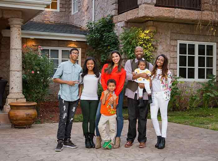 Kenny Smith family