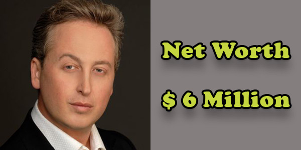 Image of David Nehdar net worth is $6 million