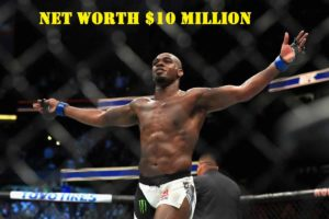 Image of Jon Jones net worth is $10 million