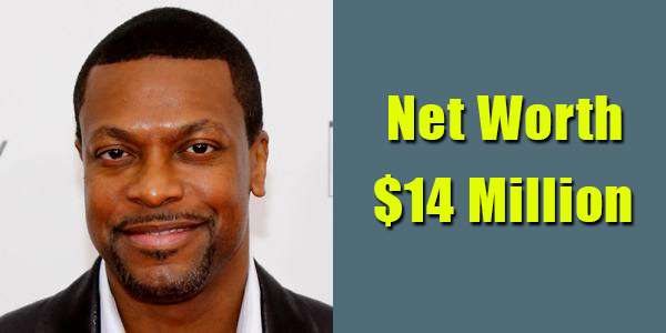 Image of Actor, Chris Tucker net worth is $14 million