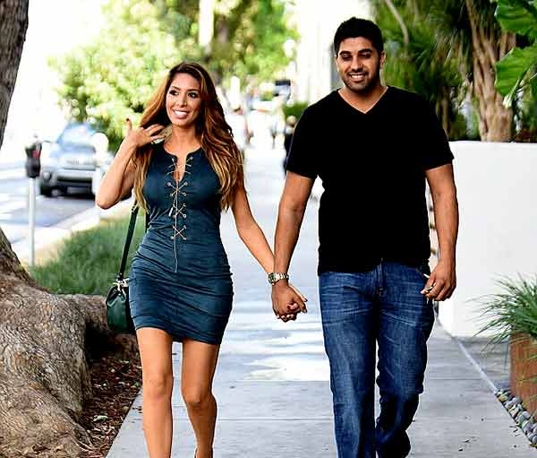 Image of Farrah Abraham is dating to Simon Saran
