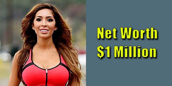 Image of Actor, Farrah Abraham net worth is $1 million