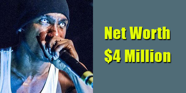 Image of Rapper, Hopsin net worth is $4 million