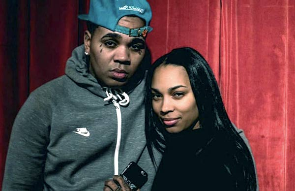 Image of Kevin Gates with his wife Dreka Haynes