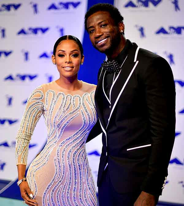 Image of Keyshia Ka'oir with her husband Gucci Mane