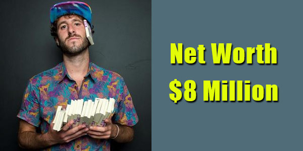 Image of Rapper, Lil Dicky net worth is $8 million