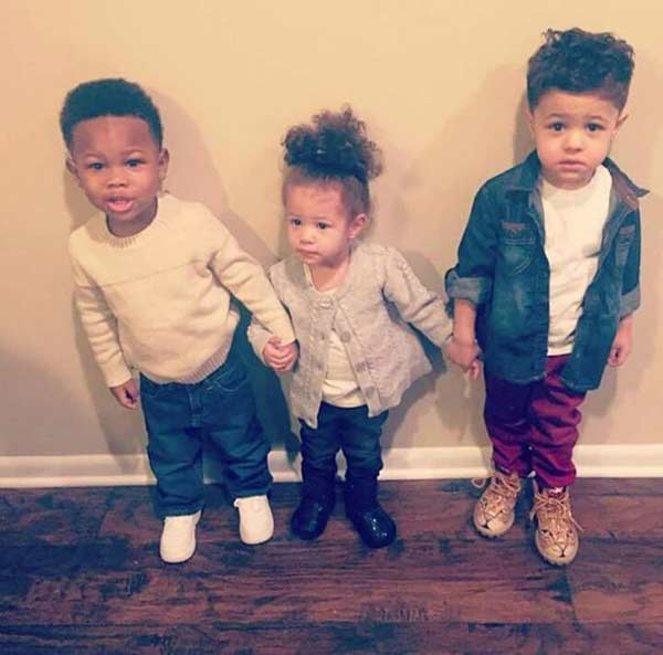 Image of Rapper, Lil Durk kids