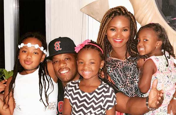 Image of Michael Bivin with his wife Teasha Bivins and their kids
