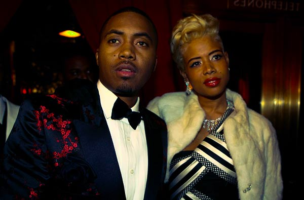 Image of Nas with his ex-wife Kelis