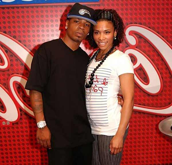 Image of Plies with his ex-girlfriend Brandy lacole Lyons