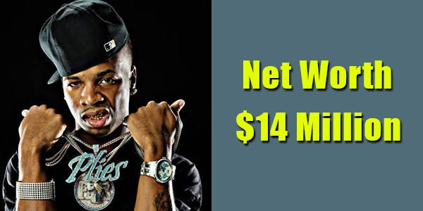 Image of Rapper, Plies net worth is $14 million