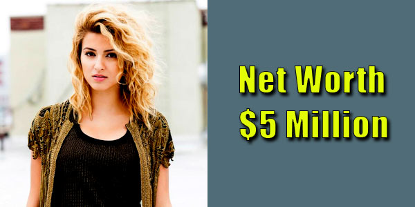 Image of Singer, Tori Kelly net worth is $5 million