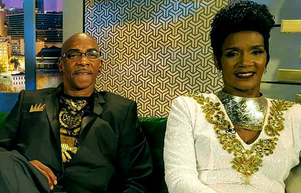 Image of Momma Dee with her husband Ernest Bryant
