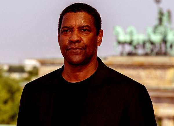 Image of Denzel Washington from movie, The Equalizer