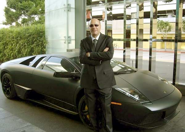 Image of TV Personality, Kevin O'Leary car