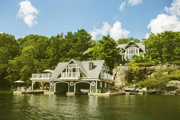 Image of Kevin O'Leary cottage on Lake Joseph