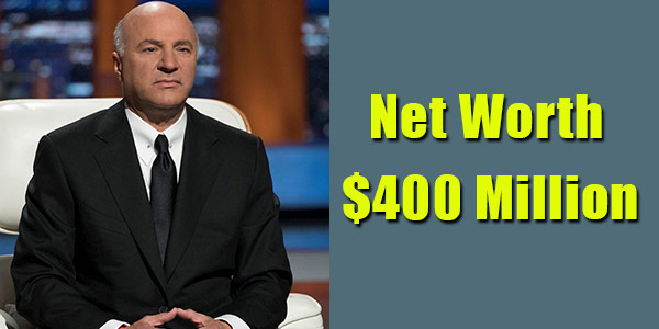 Image of Businessman, Kevin O'Leary net worth is $400 million
