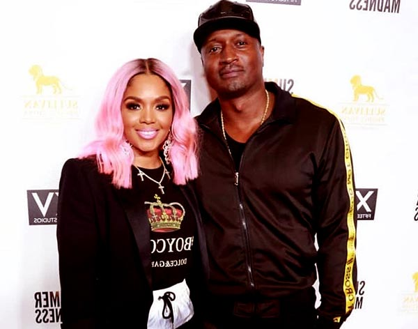 Image of Kirk Frost with his ex-wife Rasheeda