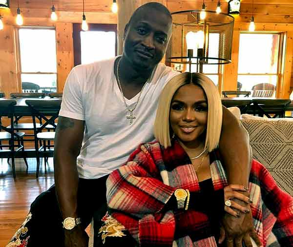 Image of Rasheeda Frost with her husband Kirk Frost