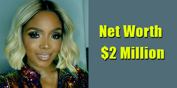 Image of TV Personality, Rasheeda Frost net worth is $2 million