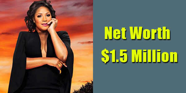 Image of TV Personality, Trina Braxton net worth is $1.5 million