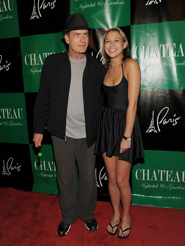 Charlie Sheen at a show premiere