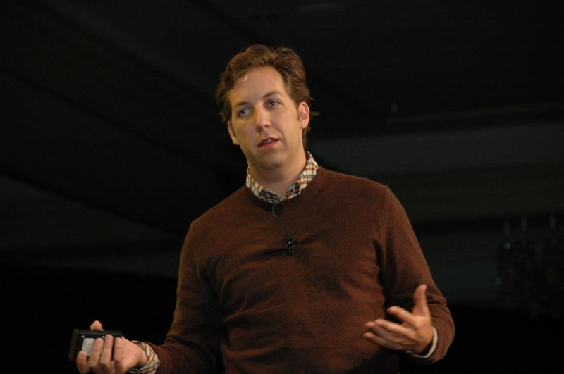 Chris Sacca at a conference