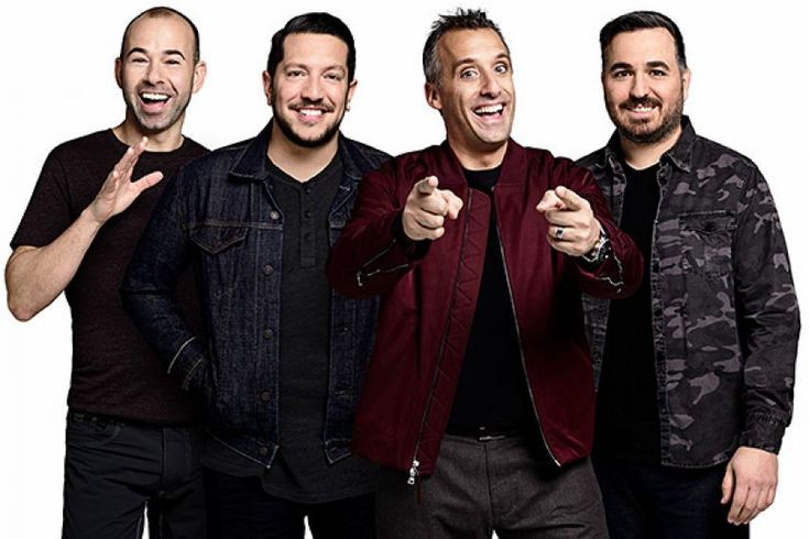 the cast of the impractical jokers