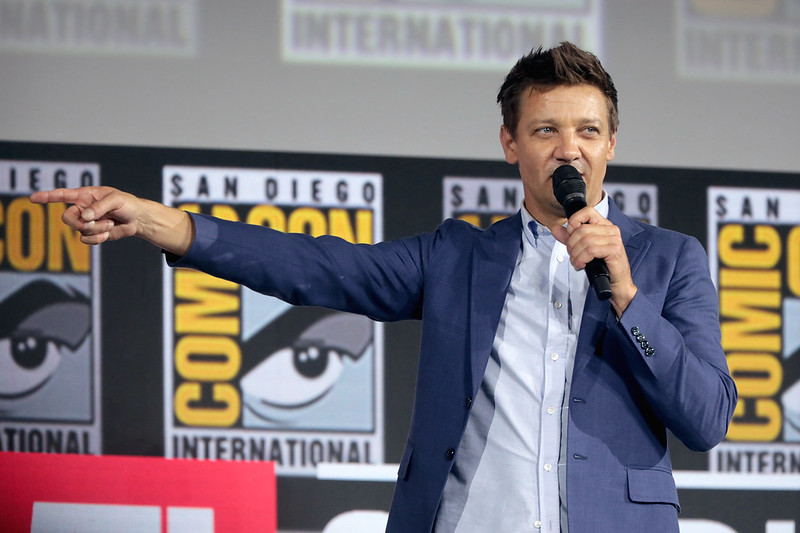 Jeremy Renner at Comicon