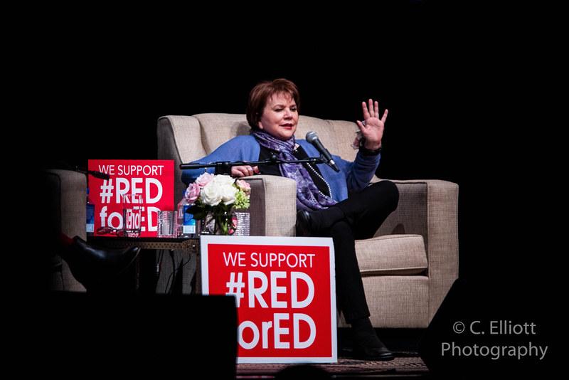 Linda Ronstadt at an event
